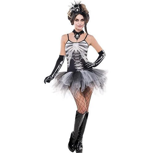 Black & Bone Skeleton Dress