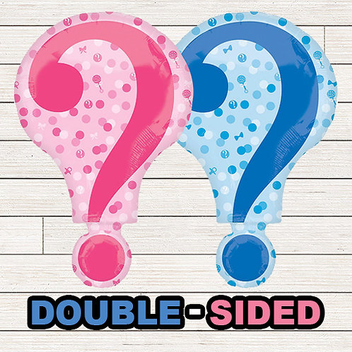 "28"" Gender Reveal ""?"" Mylar Balloon"