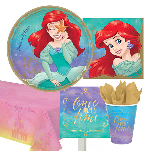 Ariel Disney Princess Tableware Kit