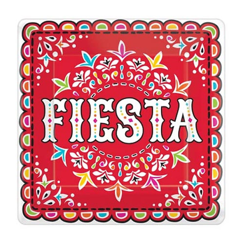Fiesta Large Square Plates