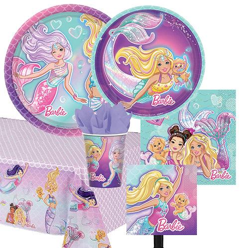 Barbie Mermaid Tableware Kit