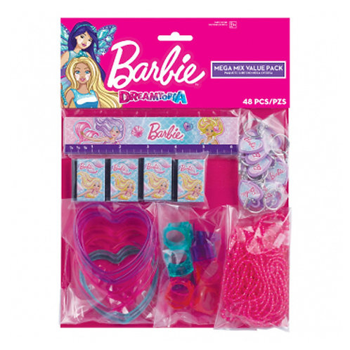 Barbie Mermaid Mega Mix Favor Pack