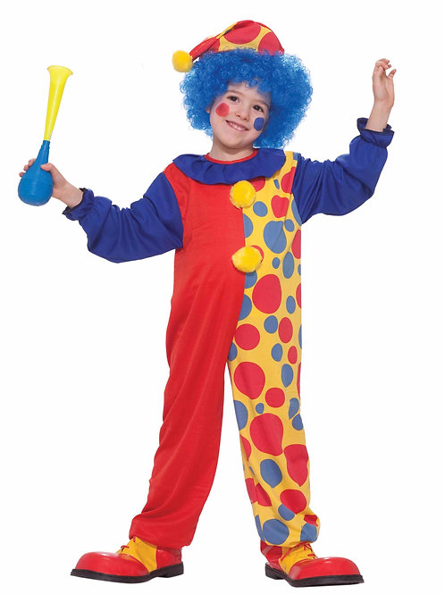 Clown Value Boy's Costume