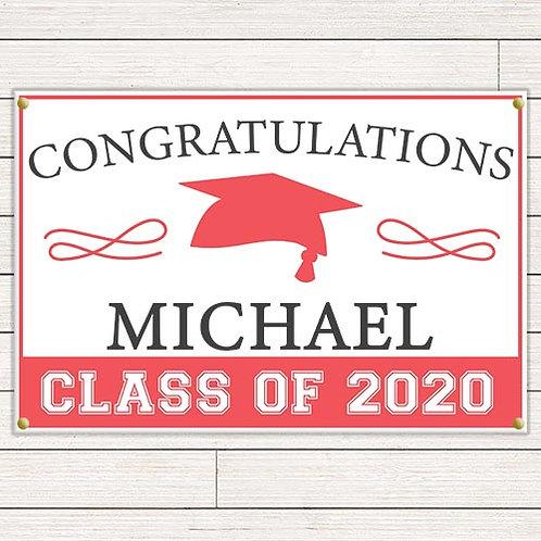 Simple Graduation Banner