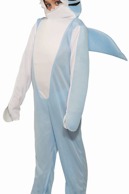 The Shark Child's Costume