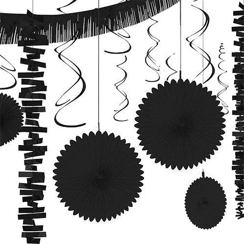 Black Decoration Kit 18pc.