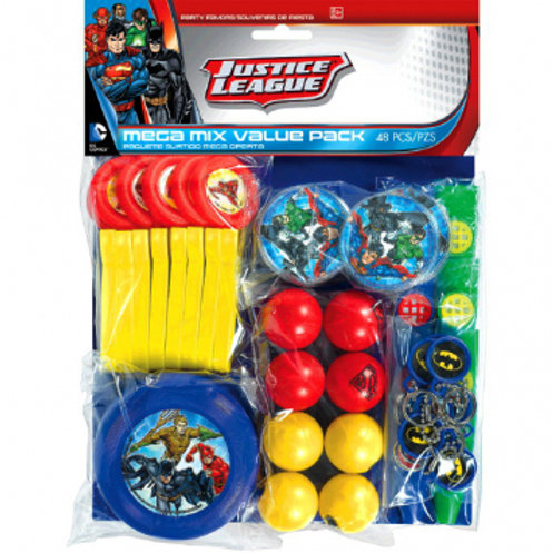 Justice League Mega Value Favor Pack