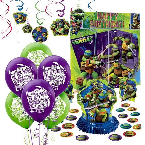 Teenage Mutant Ninja Turtles Decoration Kit