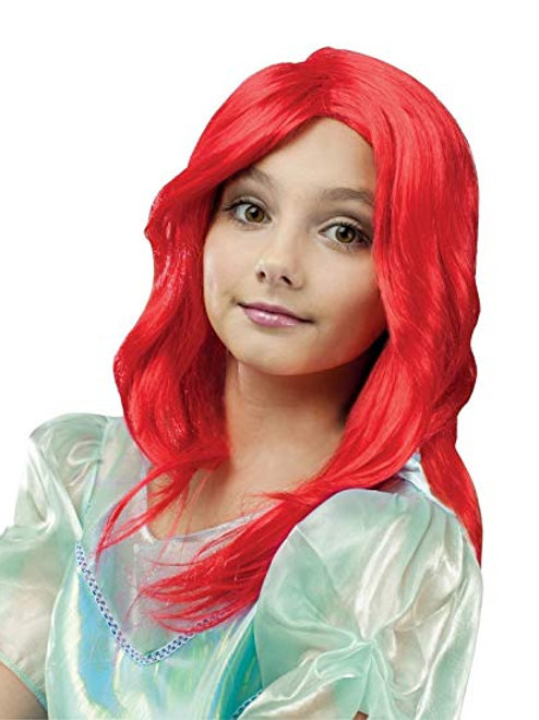 Red Princess Child's Wig
