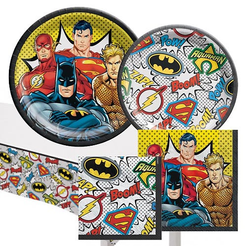 Justice League Tableware Kit