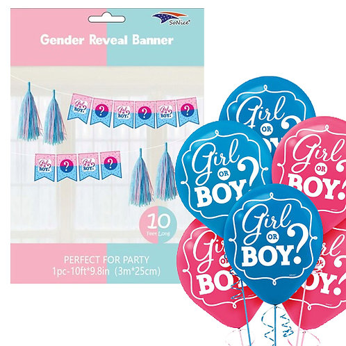 Boy or Girl? Decoration Kit