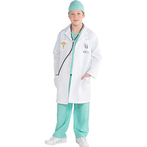 Doctor Boy's Costume