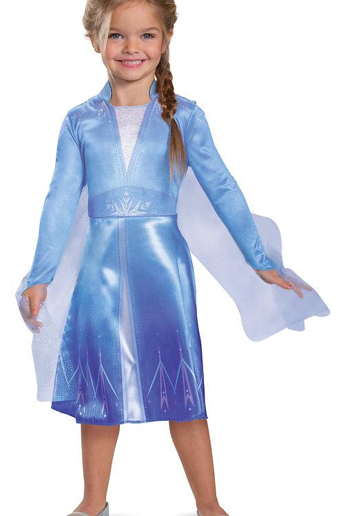 Frozen 2 Elsa Classic Girl's Costume