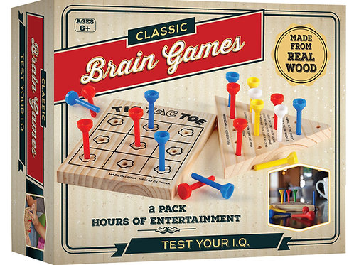 Brain Games Wooden Puzzles