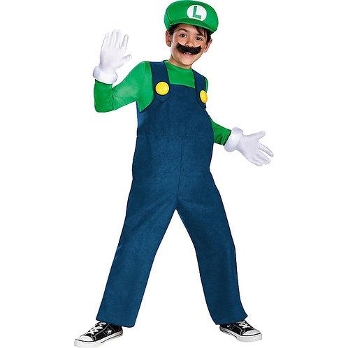 Luigi Boy's Costume