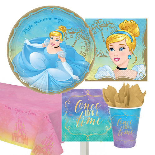 Cinderella Disney Princess Tableware Kit