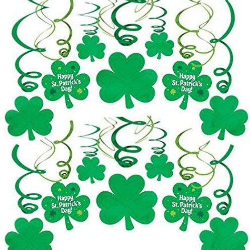 St. Patrick's Day Swirls 30ct.