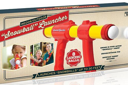 Indoor Snowball Launcher
