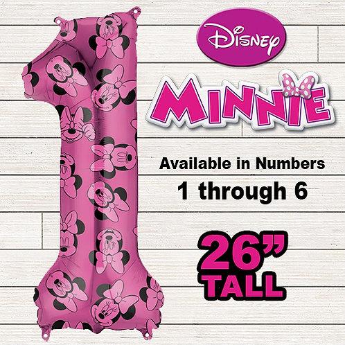 Minnie Mouse Jumbo Mylar Balloon