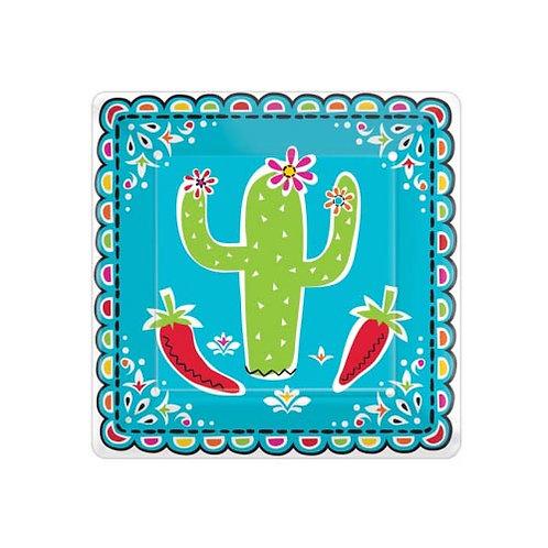 Fiesta Small Square Plates