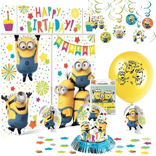 Despicable Me Minions Decoration Kit
