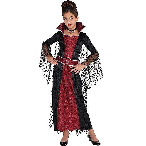 Coffin Queen Girl's Costume