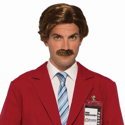 Anchorman Wig & Moustache