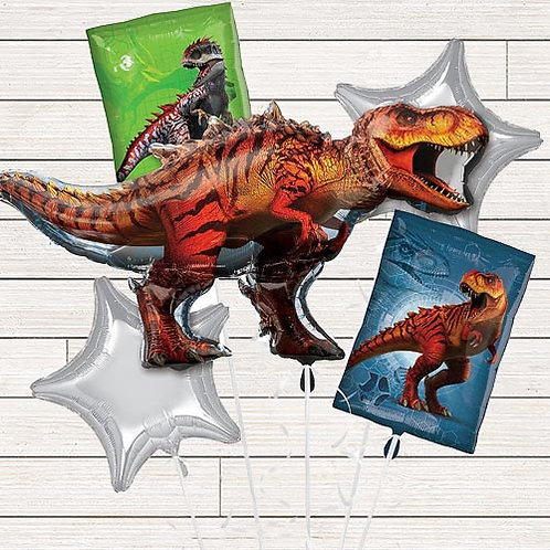 Jurassic World Mylar Balloon Bundle