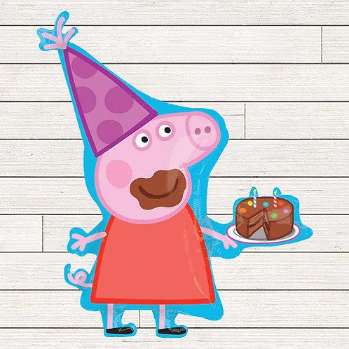 "33"" Peppa Pig Balloon"