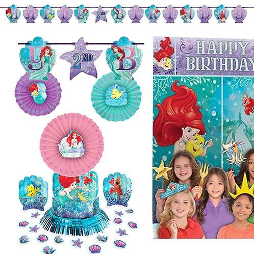 Little Mermaid Ariel Decoration Kit