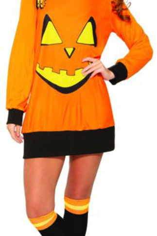 Preppy Pumpkin Women's Costume