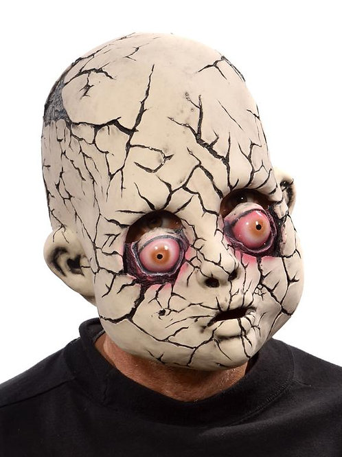 Cracked Baby Doll Mask