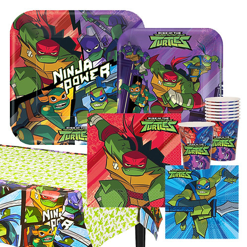 Rise of TMNT Tableware Kit