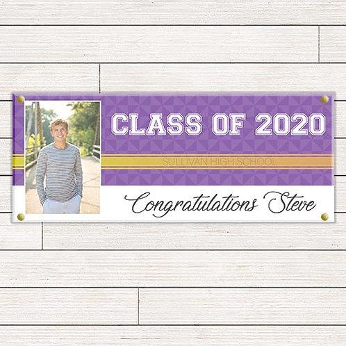 Elegant Graduation Banner