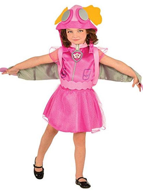Paw Patrol Skye Girl's Costume