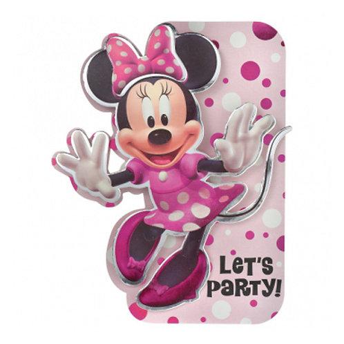 Minnie Mouse Premium Invitations