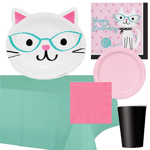 Kitten Party Value Tableware Kit