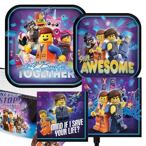 Lego Movie Tableware Kit