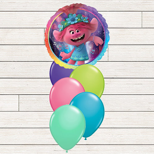Trolls World Tour Balloon Bouquet
