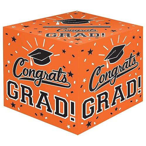 Orange Grad Card Box