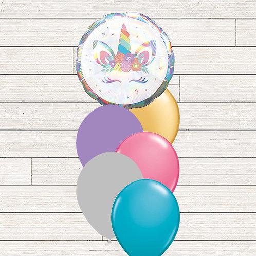 Unicorn Lashes Balloon Bouquet