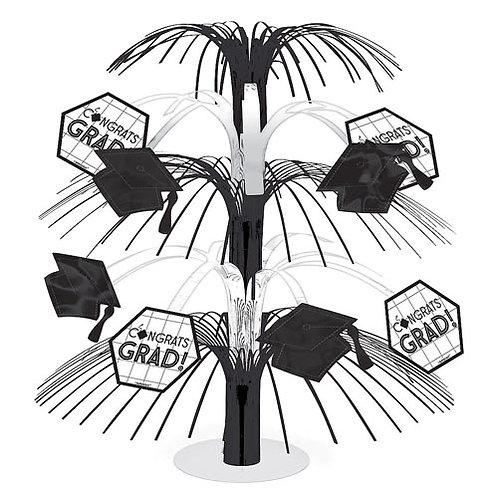 Black & White Grad Table Centerpiece