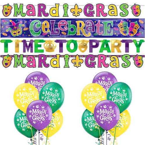 Mardi Gras Decoration Kit