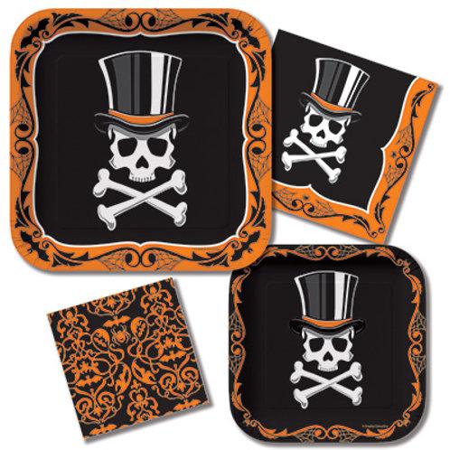 Top Hat Terror Tableware Kit