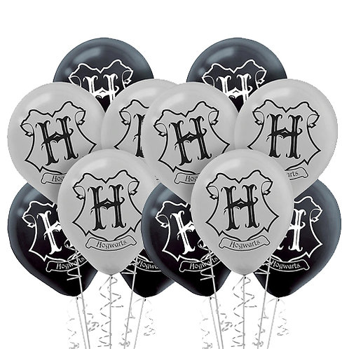 Harry Potter Packaged Latex Balloons 12ct. FLAT