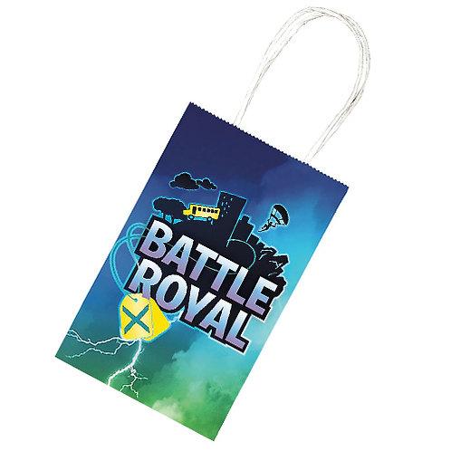 Battle Royal Paper Treat Bags 8ct.