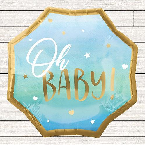 "22"" Oh Baby Boy Balloon"