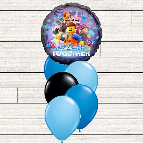 Lego Movie Balloon Bouquet