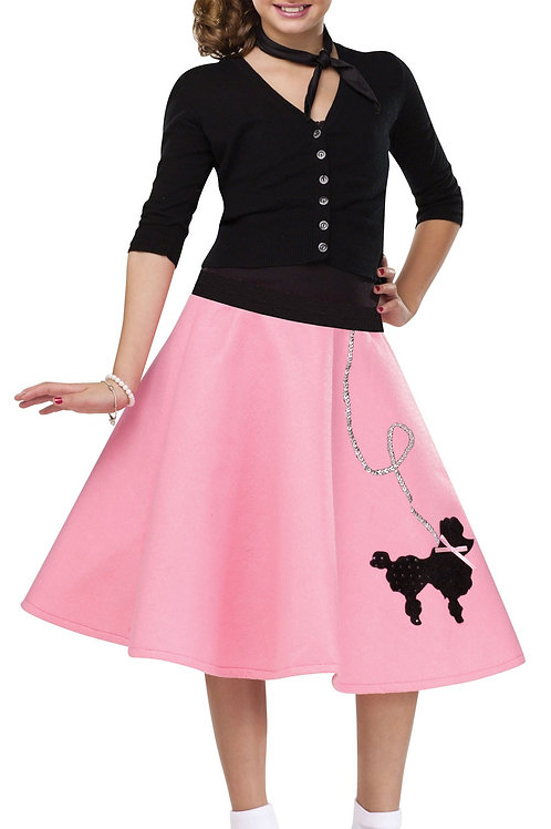 Girl's Poodle Skirt