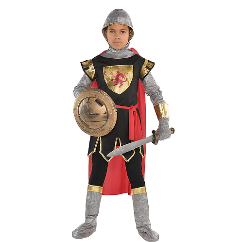 Brave Crusader Boy's Costume